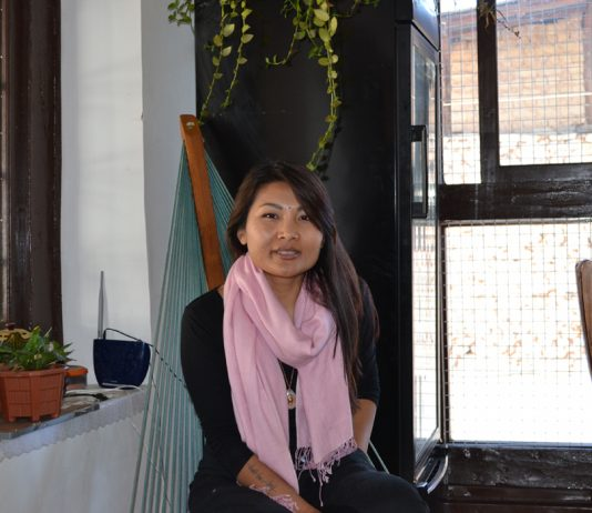 Freelance journalist Namgay Zam has been slapped with a defamation notice by Sonam Phuntsho, a well-heeled businessman. Photo Ramesh Menon