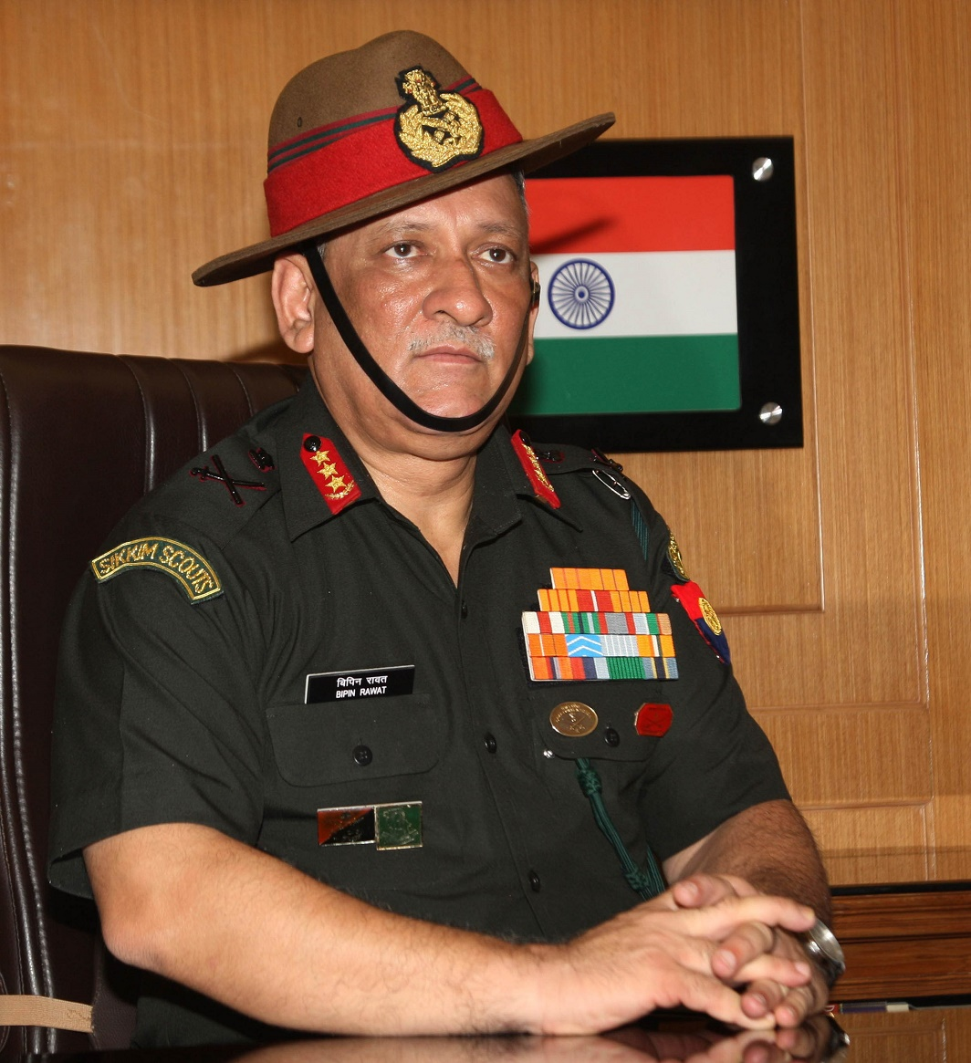 Chief of Army Chief designate Lt General Bipin Rawat. Photo: UNI