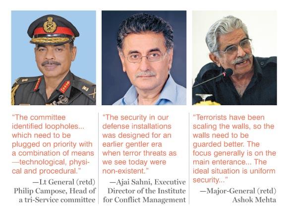 (L-R) Lt General(retd), Ajai Sahni and Major-General (retd) Ashok Mehta
