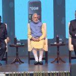 Prime Minister Narendra Modi during the launching of BHIM app un New Delhi. Photo: facebook