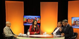 India Legal show debates on IT exemptions for parties. Photo; Bhavna Gaur