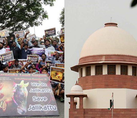 Jallikattu protestors in Bengaluru; Supreme Court
