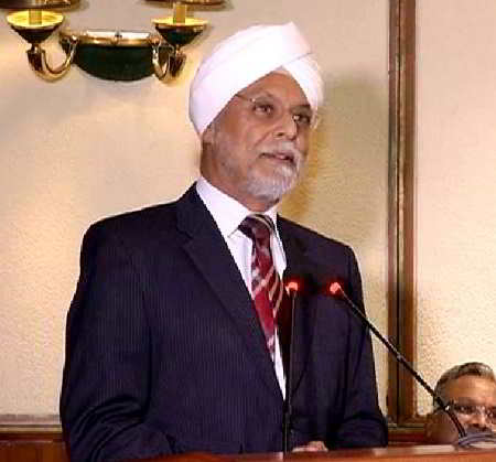 CJI JS Khehar was full of praise for Justice Thakur in his speech