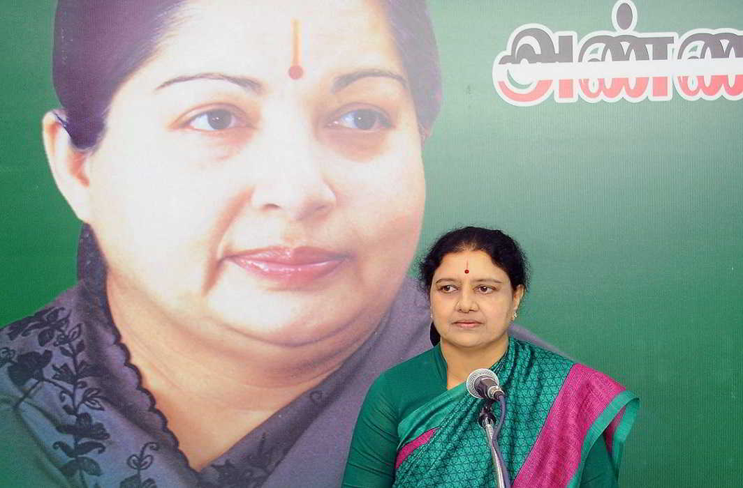 SC sends Sasikala to jail in DA case