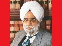 Senior advocate KTS Tulsi. Photo: indianbarassociation.org