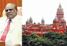 In 2015, Justice Karnan (left) accused the then Chief Justice of the Madras High Court Justice SK Kaul of harassing him because he was a Dalit
