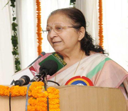 Lok Sabha Speaker Sumitra Mahajan. Photo: PIB
