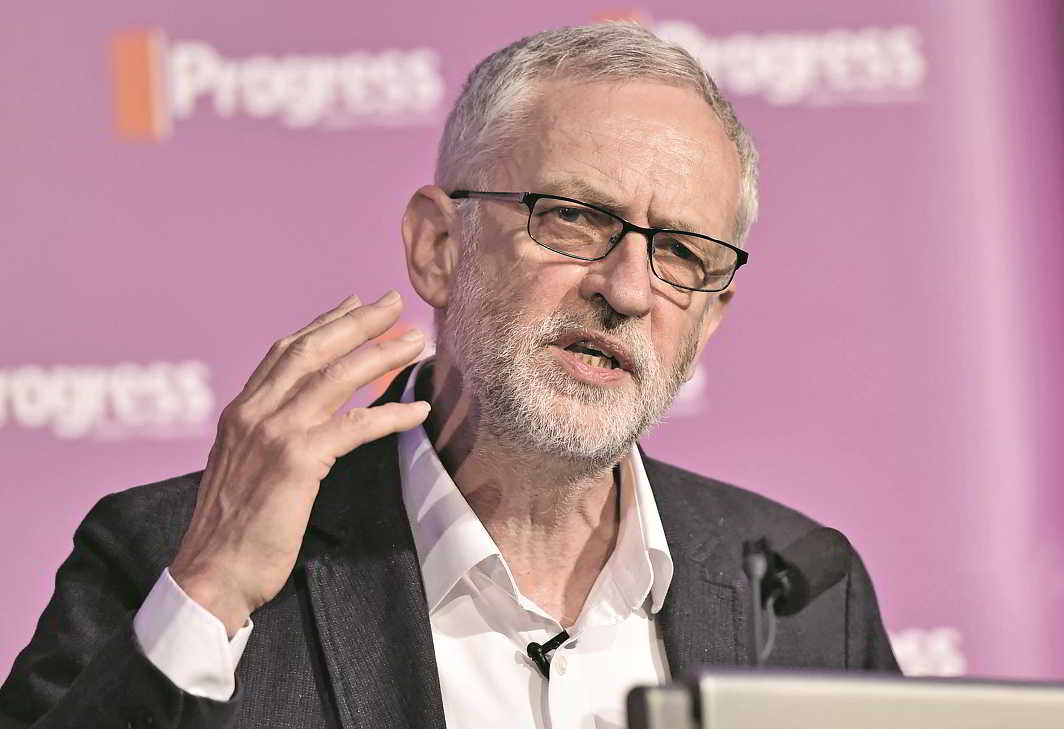 Leader of the Labour Party Jeremy Corbyn. Photo: UNI