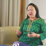 Dangwimsai Pul, the widow of the late chief minister of Arunachal Pradesh, Kalikho Pul. Photo: Anil Shakya