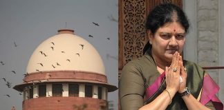 While upholding Sasikala's conviction, the SC went with the trial court's assessment in the DA case. SC photo: Anil Shakya; Sasikala photo: Getty Images