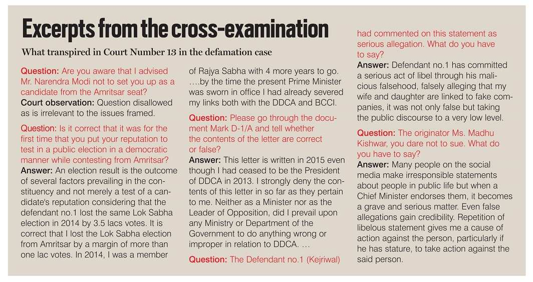 Excerpts from the-examination
