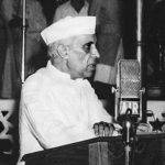 Jawaharlal Nehru speaking in parliament. Photo: Wikimedia