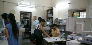 The Rameshwari Photocopy Shop in Delhi university was in the eye of a legal storm. Photo: Anil Shakya