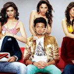 A wallpaper of the film Grand Masti