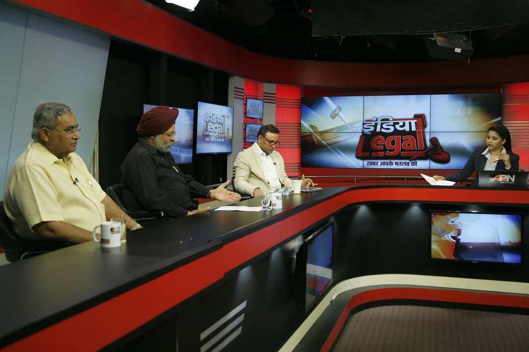 India Legal show; Photo Credit: Anil Shakya