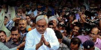 Nitish Kumar resign as bihar CM