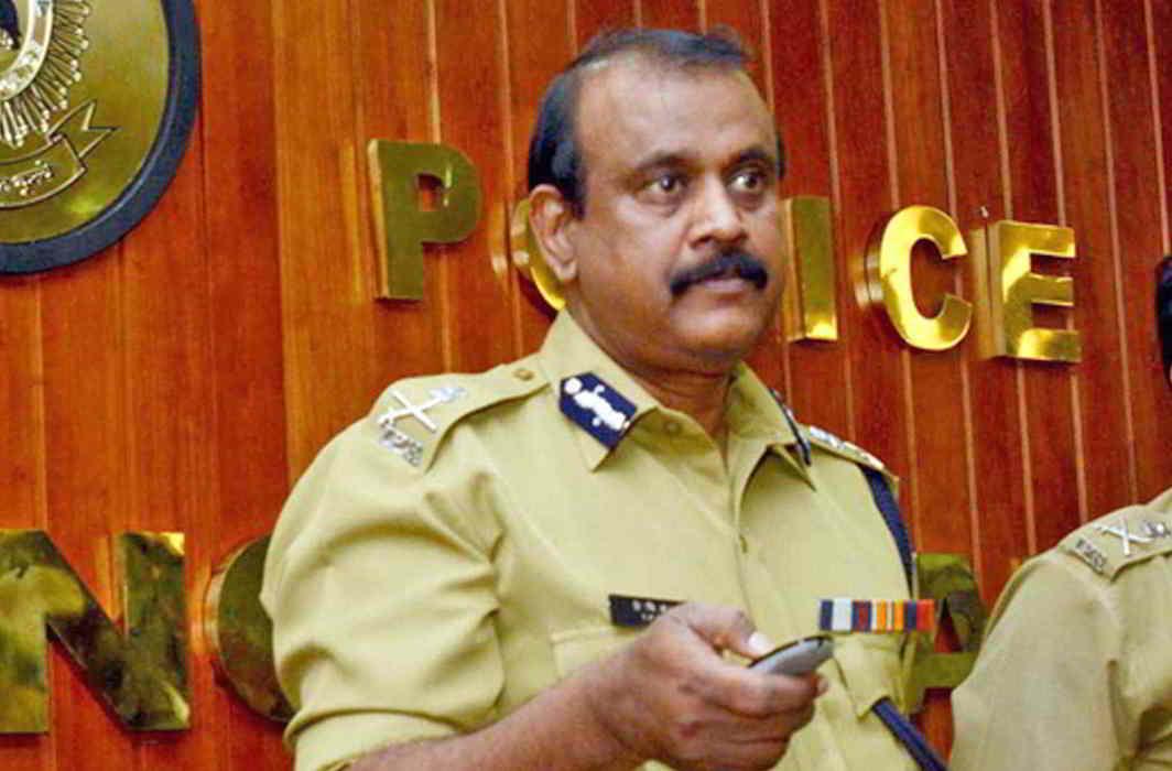 Former Kerala Director General of Police TP Senkumar. Photo: UNI