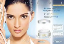 Actress Sonam in a fairness ad