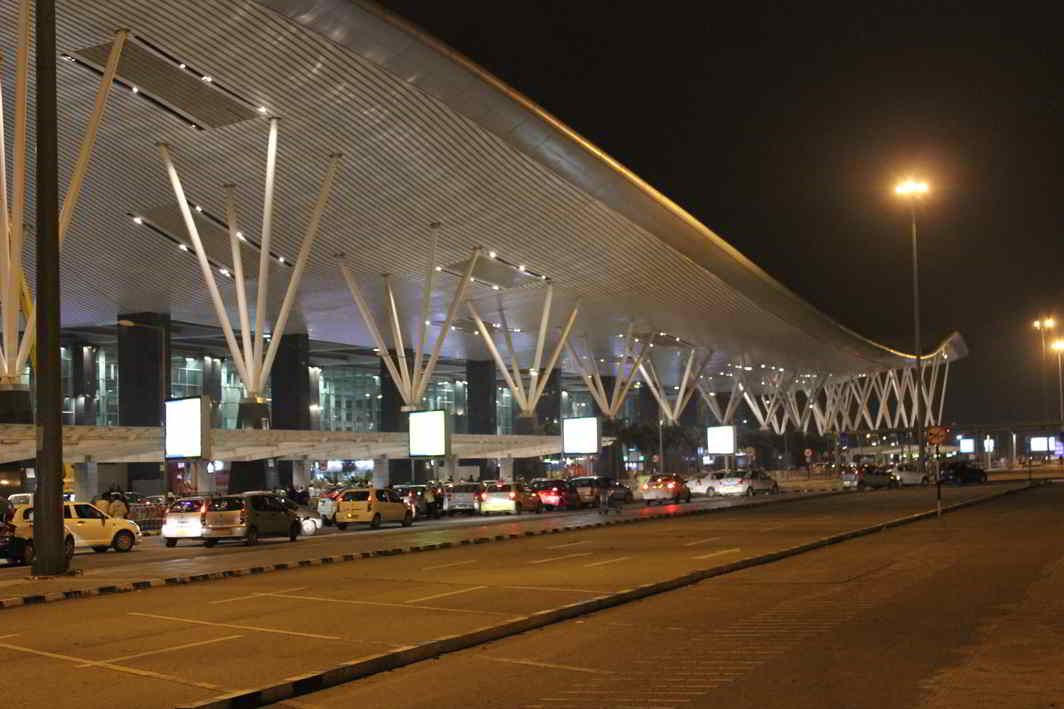 Bangalore International Airport run by GVK. Photo: Wikimedia
