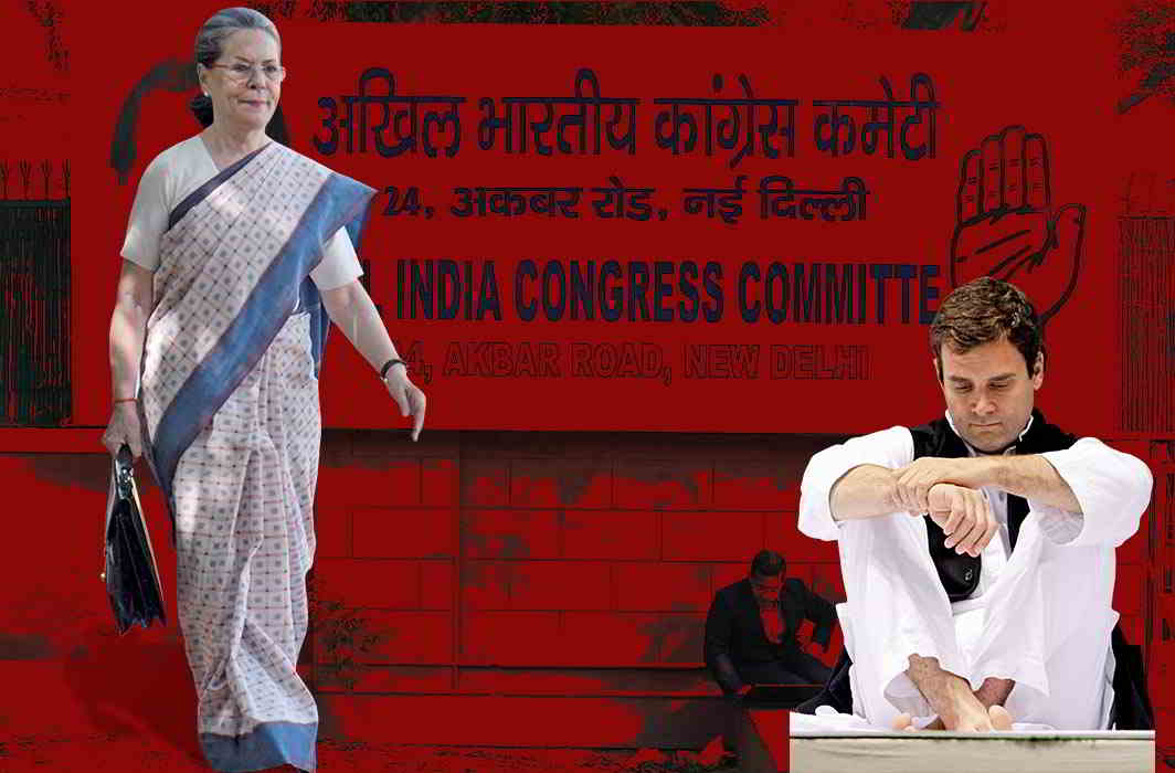 Congress old-timers, who want Sonia and not Rahul to take charge when the party is sliding day by day, are relieved