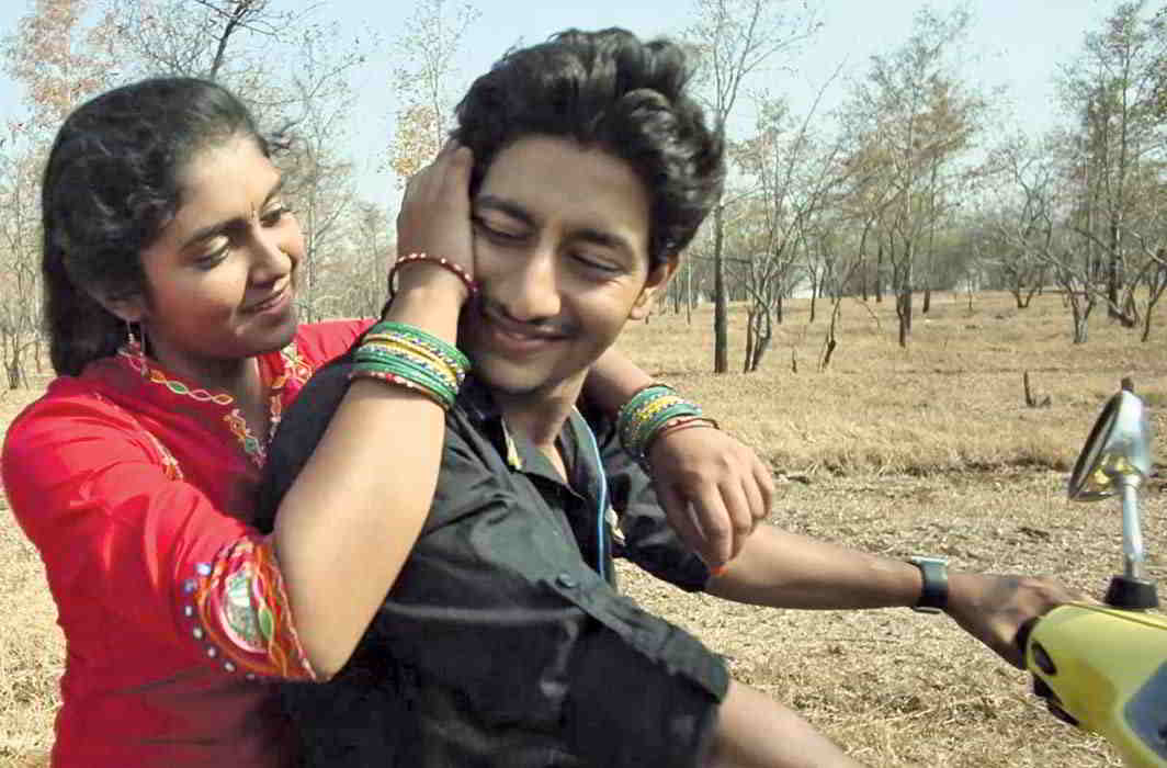 A still from the path-breaking Marathi film Sairat that shows how deeply rooted the caste system is