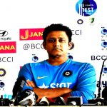 Picture: Anil Kumble. Photo: UNI