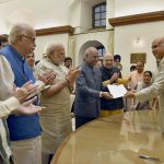 Kovind files nomination for Presidential election