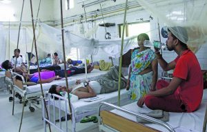 Delhi hospitals are swamped with dengue and chikungunya cases each year. Photo: Anil Shakya