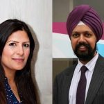 (L-R) Preet Kaur Gill and Tanmanjeet Singh Dhesi