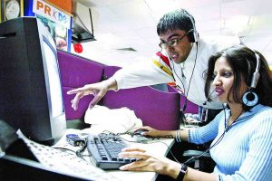 The IT sector boom had created many work opportunities. Photo: Rajeev Tyagi