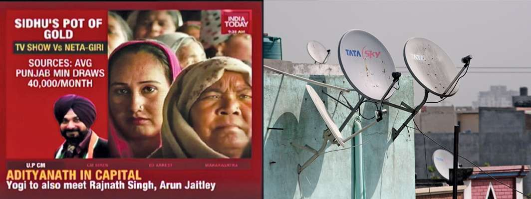 India Today TV also gears up to garner greater viewership as dish antennas pop up in more and more households
