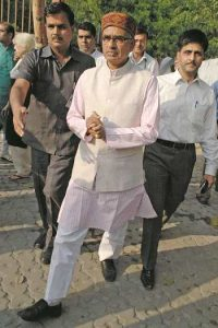 After the High Court ruling, Chief Minister Shivraj Singh Chouhan said that the question of Arya's resignation does not arise. Photo: UNI