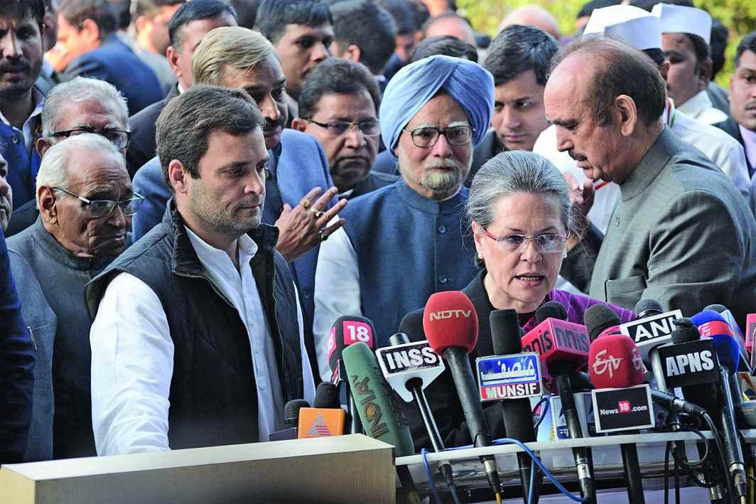 Sonia Gandhi astutely led the Congress since 1998. Photo: UNI