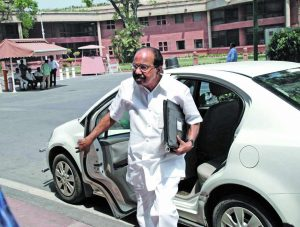 In 2010, then law minister Veerappa Moily had announced the National Litigation Policy to deal with PSUs. Photo: UNI