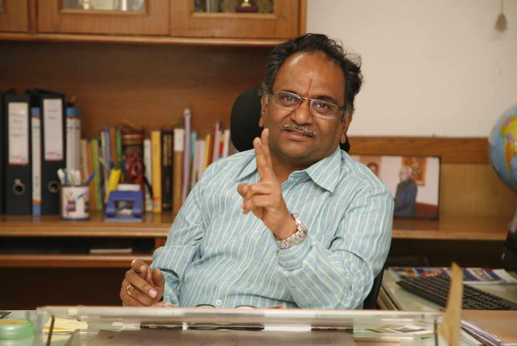 Information Commissioner M Sridhar Acharyulu. Photo: Anil Shakya