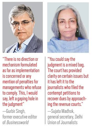 Gurbir Singh (left) and Sujata Madhok (right)