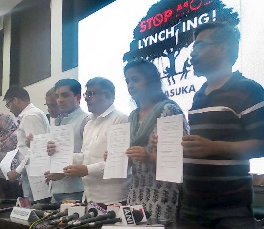 Mob-lynching protection bill draft released