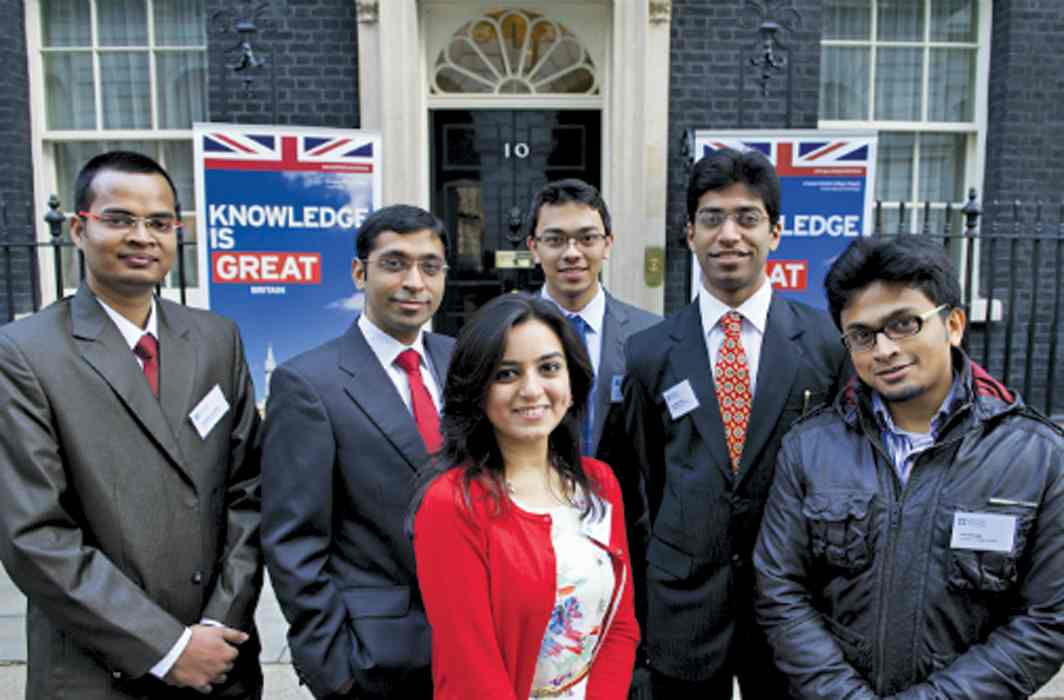 Indian students in the UK are looking for greener pastures for education. Photo: www.britishcouncil.org.in