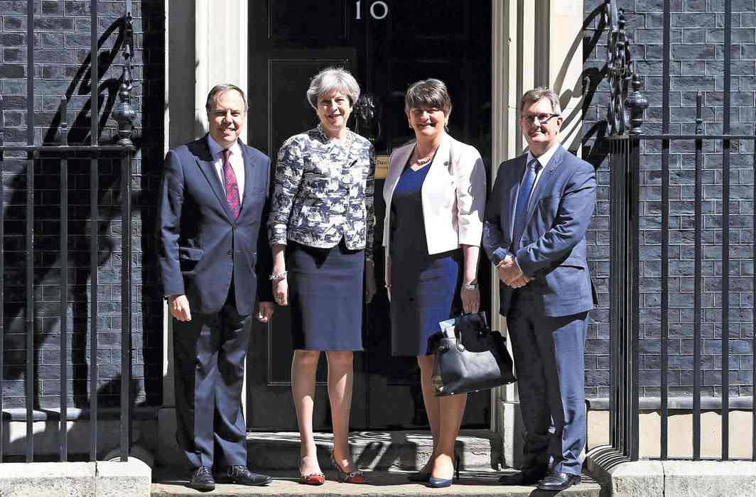 Theresa May's ouster on the cards