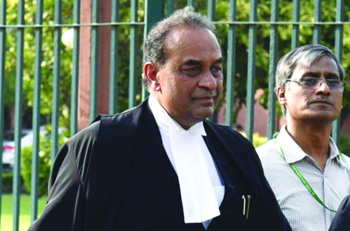 The outgoing AG, Mukul Rohatgi, candidly answered questions from critics regarding his representation of private clients.