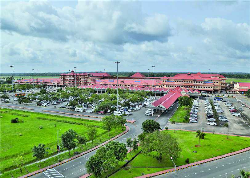 Cochin Airport was India's first airport in PPP mode, for which 1,300 acres was acquired. Photo: apaoindia.com
