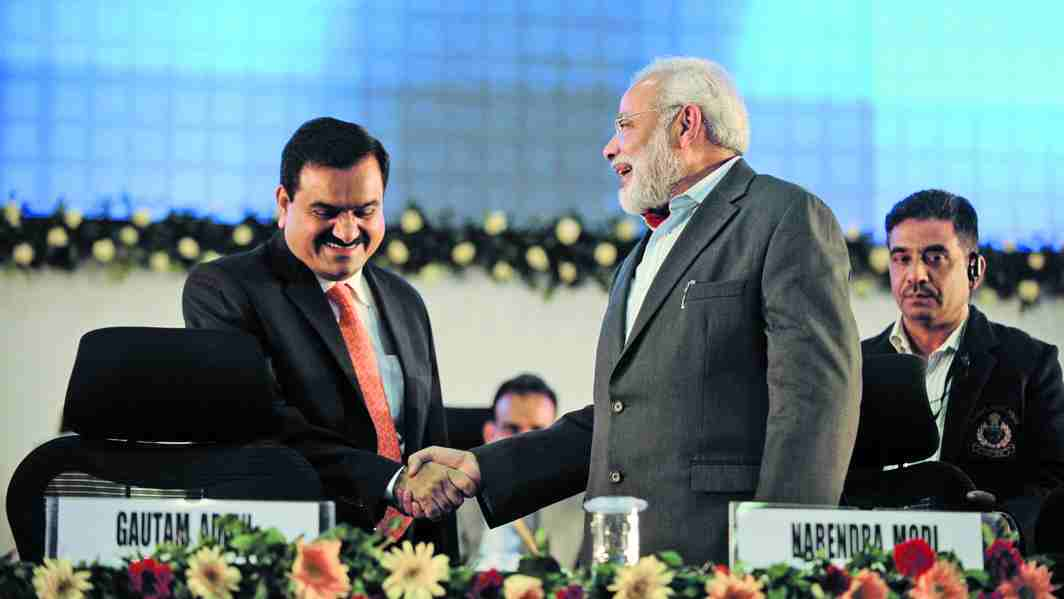 The proximity of Gautam Adani to Narendra Modi is well-known. Photo: www.dr.dk