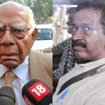 "Jethmalani says he got the ""crook"" hint from Kejriwal"