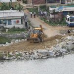 Lake encroachment is rampant in Bengaluru. Photo: www.Indiawaterportal.org