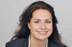 Heidi Allen, Conservative MP, who is angry with May's deal with the Irish party.