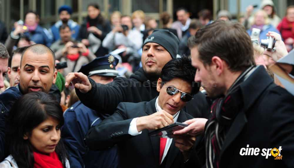 Shah Rukh Khan is a rage in Germany. Photo: cinespot.net