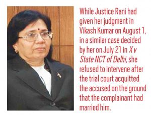 Rape Case: Compromise, the Name of the Game