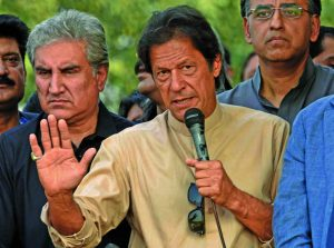 Imran Khan. Photo: UNI