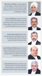 Triple Talaq: Liberating Verdict