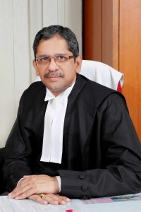 Justice N V Ramana. Photo. J.S. Studio